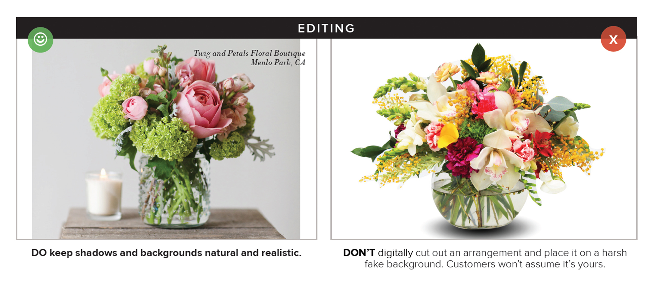 Product Photography Recommendations – BloomNation Help Center